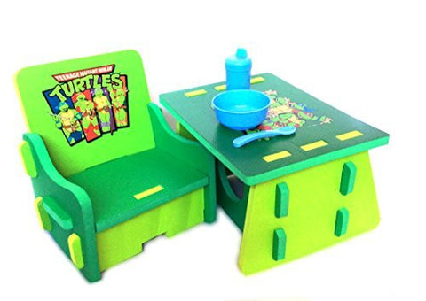 Teenage Mutant Ninja Turtles Table and Chair