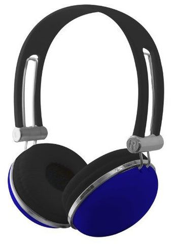 Sentry Retro High Performance Stereo Headphones - Blue