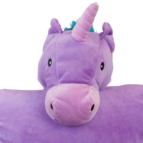 Unicorn Cuddle Buddy Cover - Plush Animal Pillow Covers
