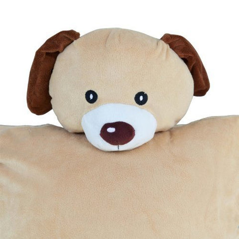 Dog Cuddle Buddy Cover - Plush Animal Pillow Covers