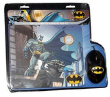 DC Comics Batman Optical Mouse & Mouse Pad Combo - Little TroubleMakers | Kids Toys and Fashion