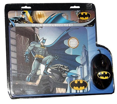 DC Comics Batman Optical Mouse & Mouse Pad Combo
