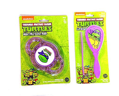 Ninja Turtles Teether Brush and Comb
