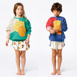 Knit Fruit Design Pullover Sweaters - Little TroubleMakers | Kids Toys and Fashion