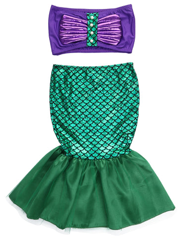 Mermaid Swimsuit Set for Girls