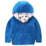Reversible Hooded Jacket for Boys - Little TroubleMakers | Kids Toys and Fashion