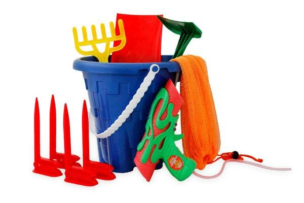 Beach Toys for Kids Beach Bag and Towel Pegs/stakes - Little TroubleMakers | Kids Toys and Fashion