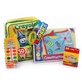 Crayola Building Blocks Backpack and Art Supplies - Little TroubleMakers | Kids Toys and Fashion