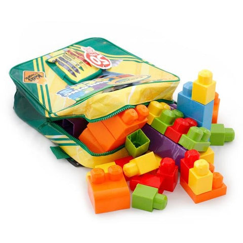 Crayola Building Blocks Backpack and Art Supplies