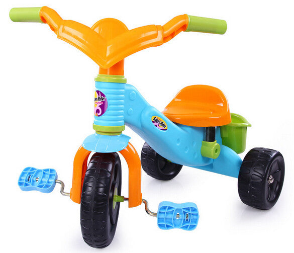 Kids Tricycle With Basket - Little TroubleMakers  285d296ff0ed