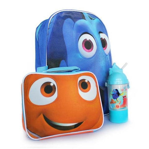 Disney Finding Dory Backpack Lunch Bag and Bottle