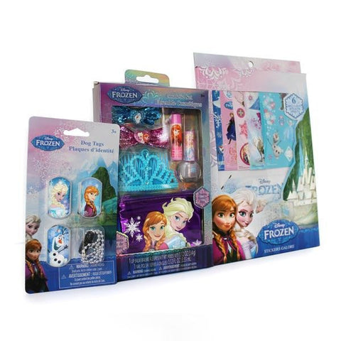 Frozen Sticker Book Nail Polish Kits for Kids Hair Bows