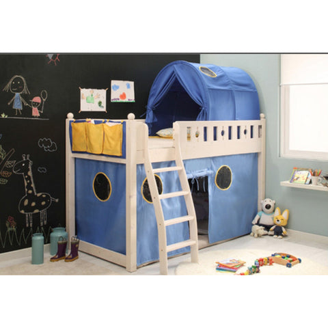 Blue Bed Fort Tent for Boys
