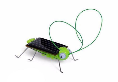 Solar Powered Robot Grasshopper Toy