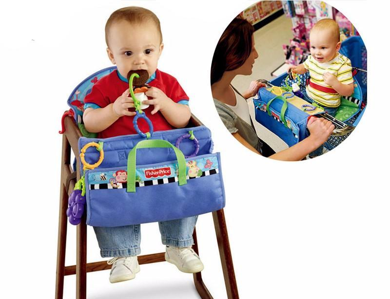 Fisher Price Baby Seat Cushion Toy Station Seat Covers For Shopping Cart Stroller High Chair