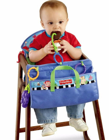Fisher Price Baby Seat Cushion Toy Station Seat Covers for Shopping Cart Stroller & High Chair