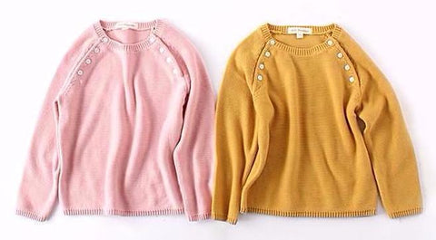 Autumn Pullover Sweaters for Girls