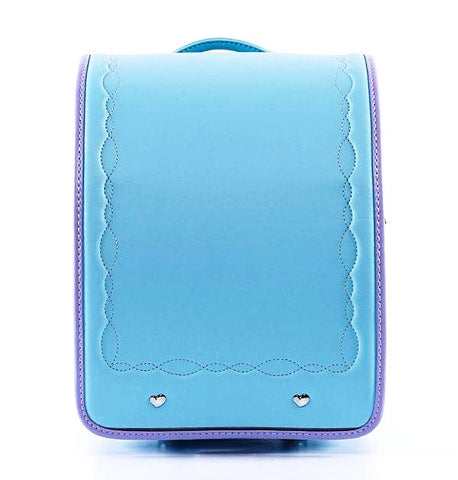 Coulomb Kids Perfect Posture School Backpack (Light Blue & Violet)