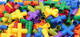 Colorful Tube Tunnel Building Blocks - 72 Piece - Little TroubleMakers | Kids Toys and Fashion