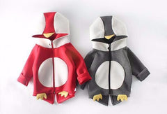 Baby Bird Zip-Up Hooded Sweater for Baby Boys & Baby Girls - Little TroubleMakers | Kids Toys and Fashion