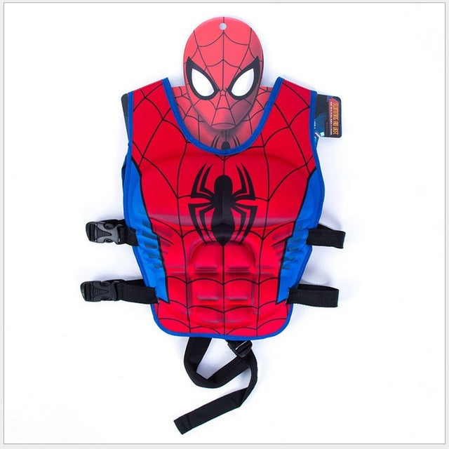 SpiderMan Adjustable LifeJacket Swimming Life Vest - Little TroubleMakers | Kids Toys and Fashion