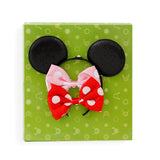 Minnie Mouse 2-Piece Interchangeable Bow Headband - 3-Piece Disney Princess Tags Necklace - Little TroubleMakers