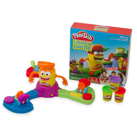 Play Doh Launch Game + 4 Extra Play Dough