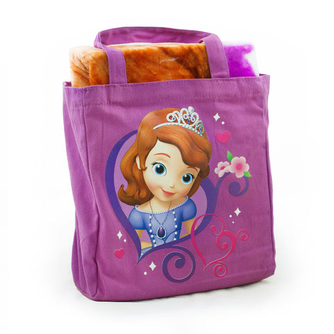 Princess Sophia Blanket and Carrying Bag