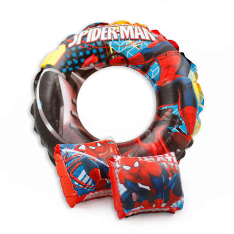 Spider Man Swim Arm Floats and Circle Float