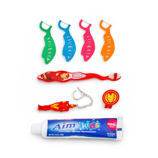 Iron Man Marvel Toothbrush Dental Care Kit - Little TroubleMakers