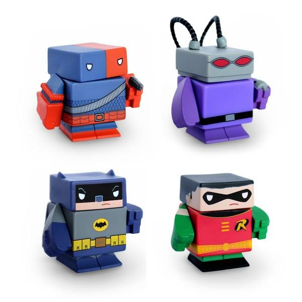 DC Comics Magnetic Vinyl Action Figures - Little TroubleMakers | Kids Toys and Fashion