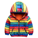 Reversible Hooded Jacket for Children - Little TroubleMakers | Kids Toys and Fashion