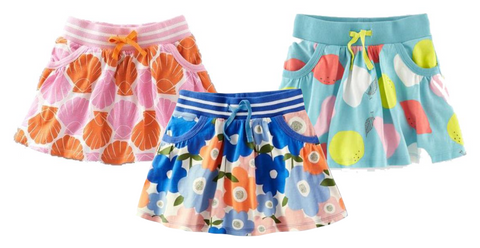 Summer Design Pettiskirt for Girls