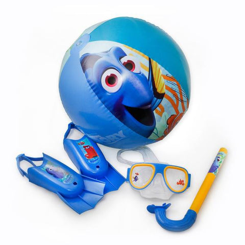 Snorkel Gear for Kids Swim Mask and Fins | Finding Dory