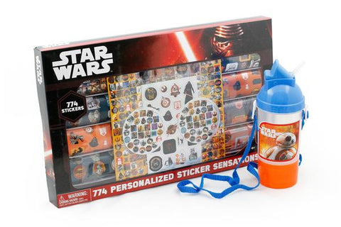 Star Wars Decals, Cup and Stickers