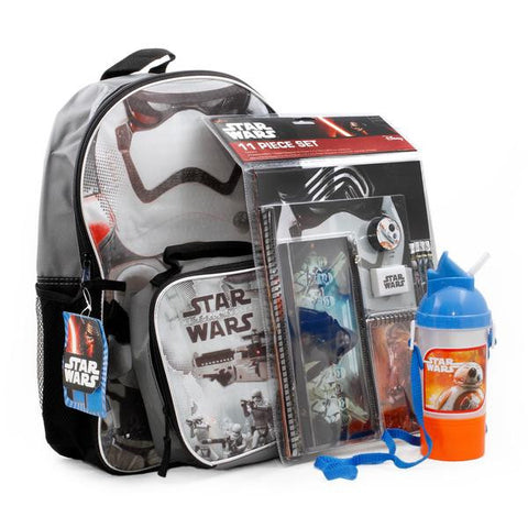 Star Wars Backpack Lunch Box School Supplies