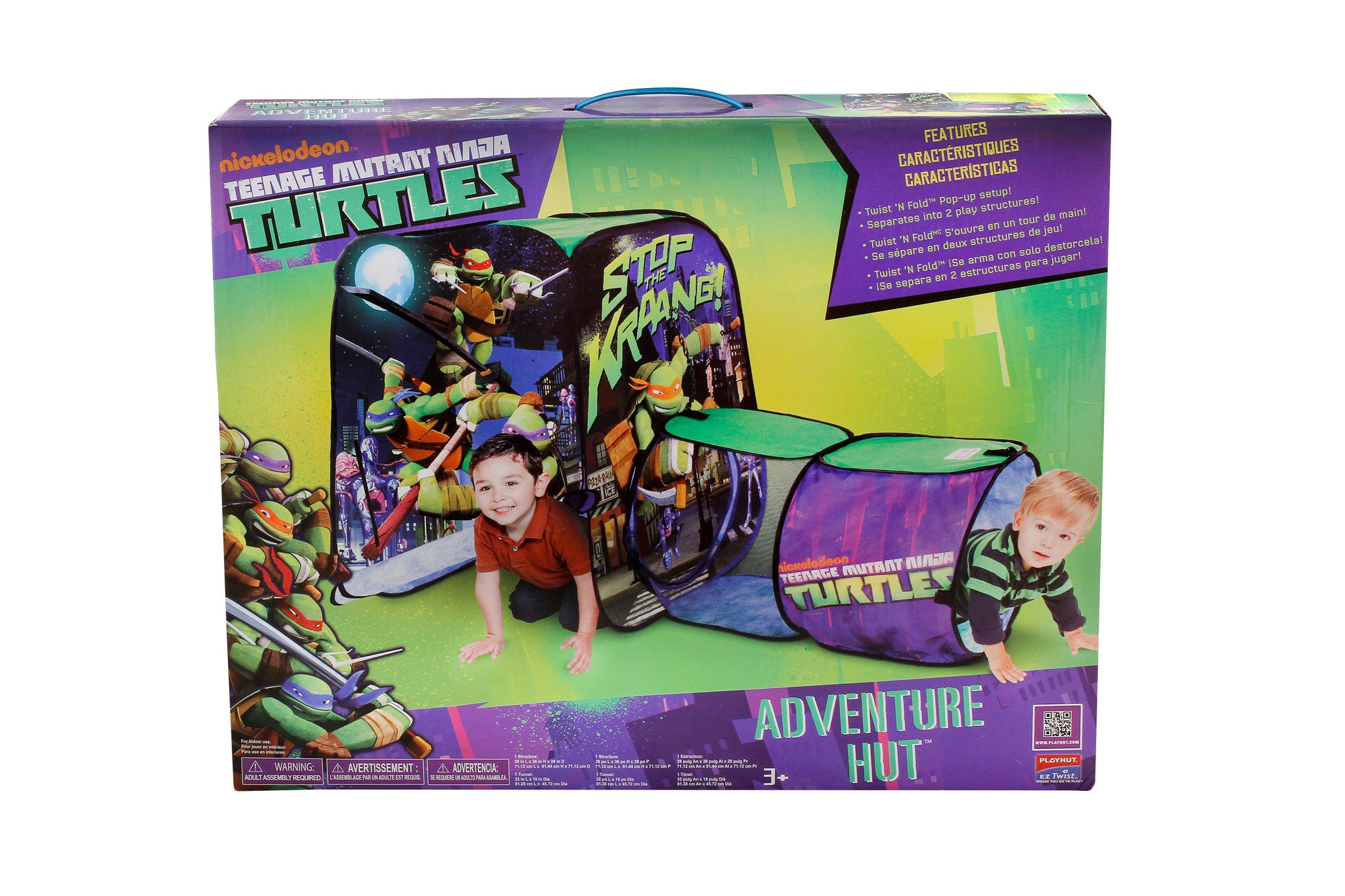 Teenage Mutant Ninja Turtles Adventure Hut - Little TroubleMakers | Kids Toys and Fashion