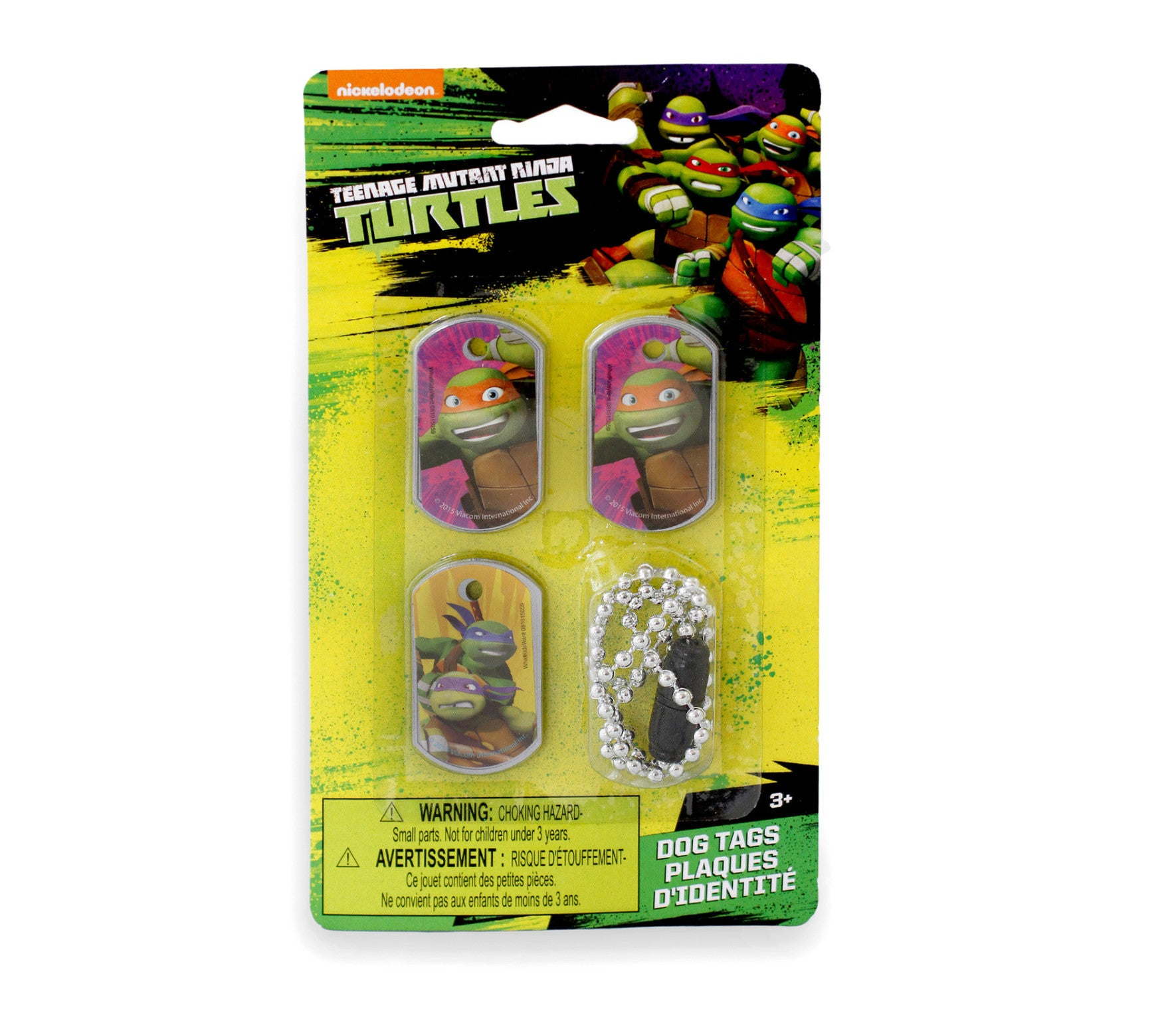 Nickelodeon Teenage Mutant Ninja Turtles Dog Tags - Little TroubleMakers | Kids Toys and Fashion