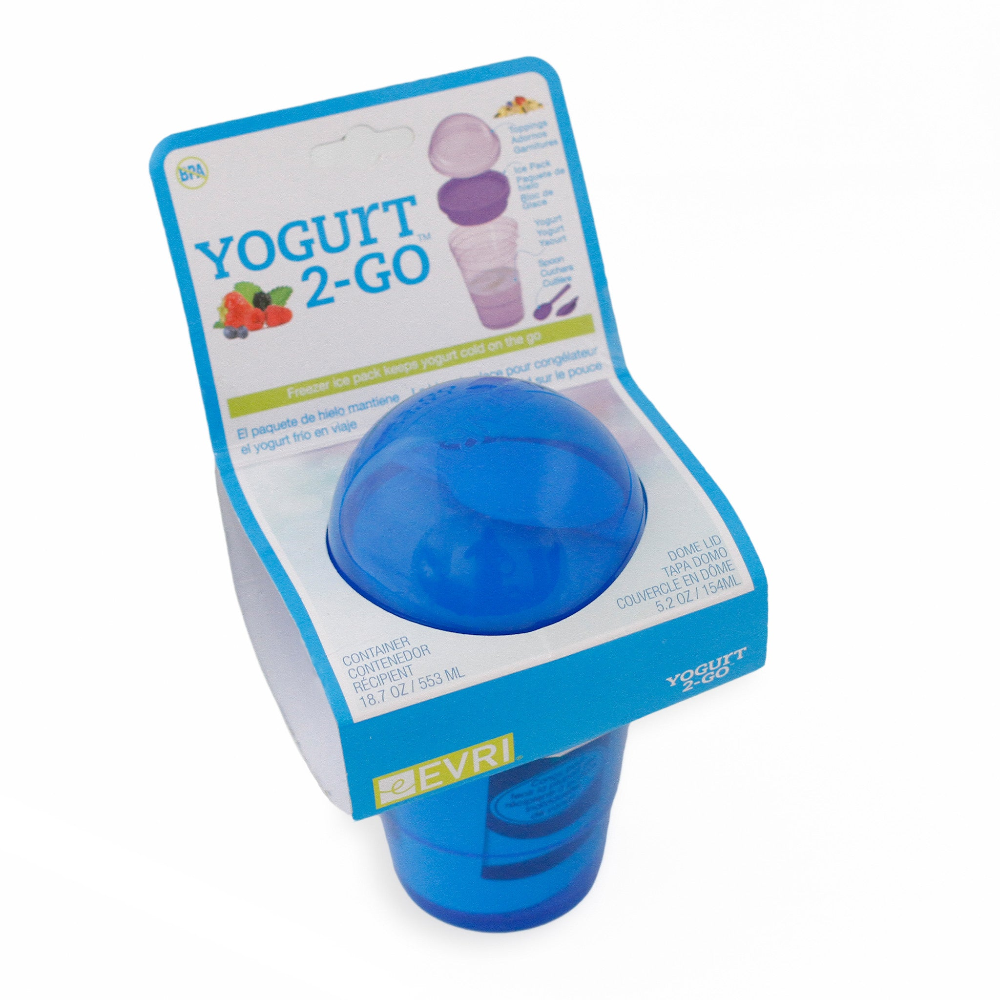 Yogurt 2-Go and Snack Cup