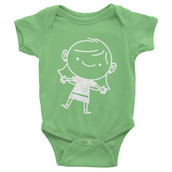 Infant Short Sleeve Little Mrs Onesie - Little TroubleMakers | Kids Toys and Fashion