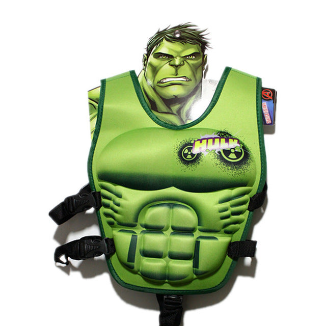 Incredible Hulk Adjustable LifeJacket Swimming Life Vest - Little TroubleMakers | Kids Toys and Fashion