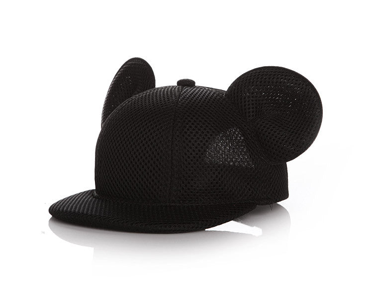 Mickey Mouse Ears Snapback Mesh Hat - Little TroubleMakers | Kids Toys and Fashion