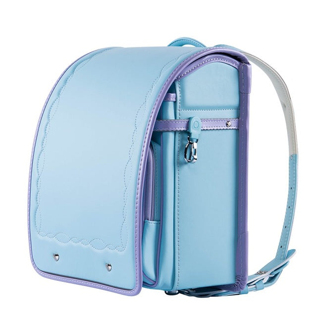 Coulomb Kids Perfect Posture School Backpack (Light Blue & Violet) - Little TroubleMakers | Kids Toys and Fashion