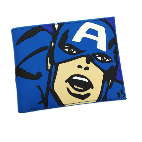 Marvel Captain American Wallet Bifold and Card Holder For Boy