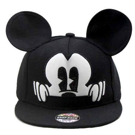 Mickey 3D Snapback Baseball Hat - Little TroubleMakers | Kids Toys and Fashion