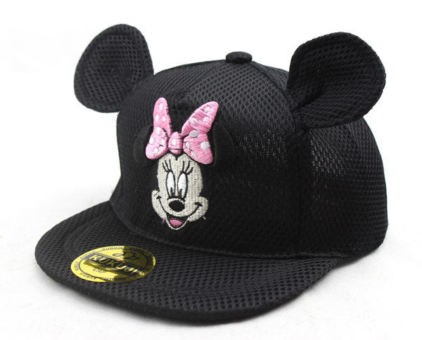 Mickey Mouse and Minnie Mouse Summer Mesh Snapback Caps - Little TroubleMakers | Kids Toys and Fashion