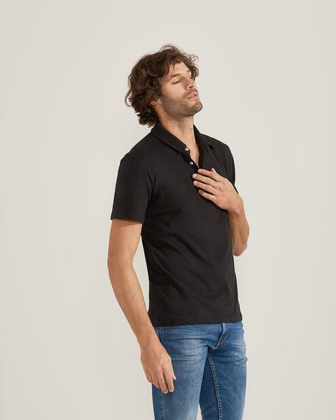 Organic Cotton Jersey Polo