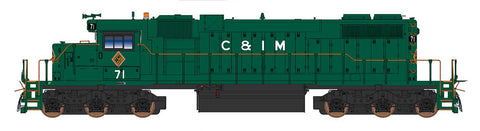 Intermountain SD38-2 - Chicago & Illinois Midland - Pre-Order