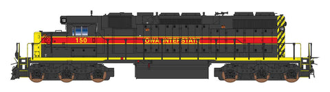 Intermountain SD38-2 - Iowa Interstate - Pre-Order