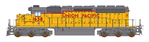 Intermountain SD40N Union Pacific Rebuild with ESU Lokpilot DCC (Non-Sound)